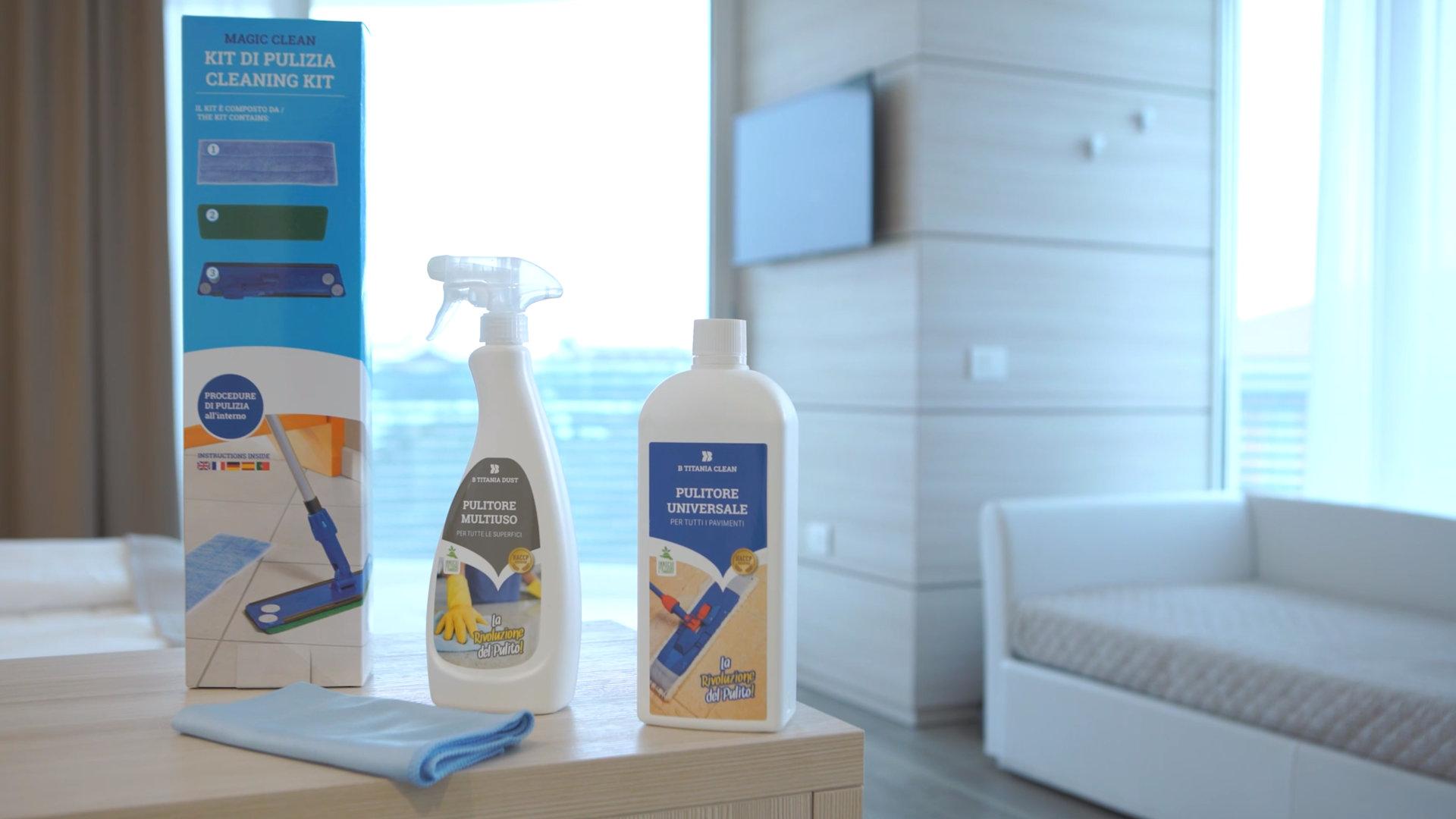 prodotti per la pulizia di alberghi e hotel